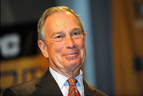 Le maire de New York Michael Bloomberg
