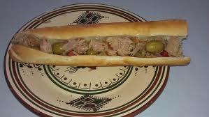 sandwich au thon tunisien
