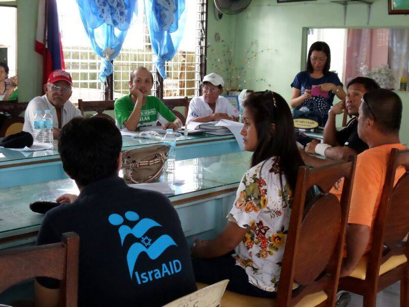 IsraAID's Psycho Social Intervention in Ormoc, Philippines