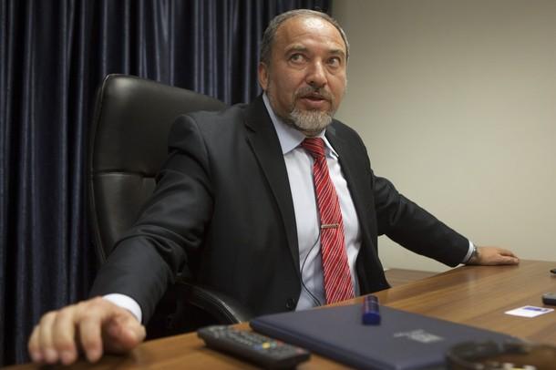 Israeli Foreign Minister Avigdor Lieberm