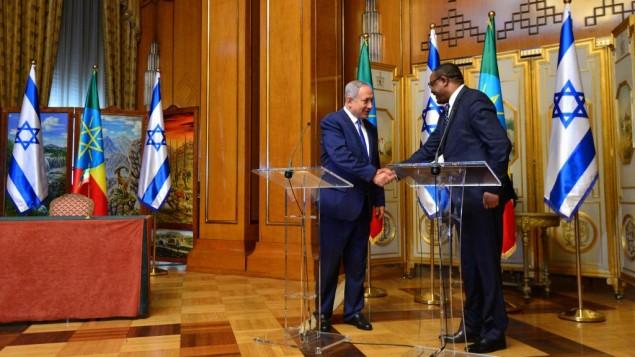 PM-Netanyahu-Ethiopian-PM-Desalegn-635x357
