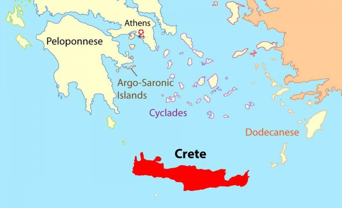 Carte Chypre Crete.Mediterranee Israel Et La Grece Vont Construire Un Nouveau