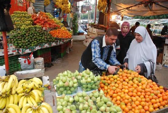 profusion de nourriture a gaza